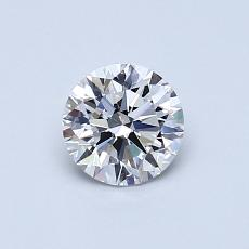 Recommended Stone #2: 0.57-Carat Round Cut