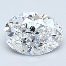 Recommended Stone #4: 1,51-Carat Oval Cut Diamond