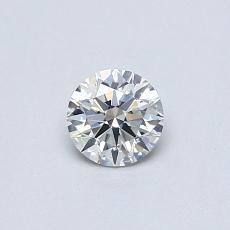 0.31-Carat Round Diamond Ideal F SI1