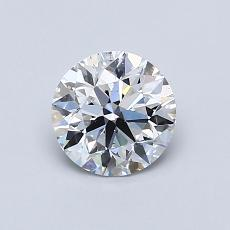 Recommended Stone #3: 0,80-Carat Round Cut