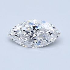 Recommended Stone #3: 0.57-Carat Marquise Cut Diamond