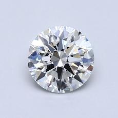 0.82-Carat Round Diamond Ideal G VS1