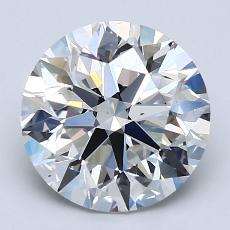 Recommended Stone #1: 2.70-Carat Round Cut Diamond