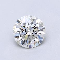0.80-Carat Round Diamond Ideal G VS2