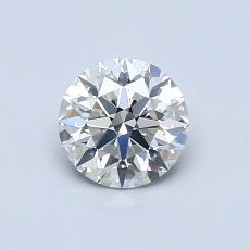 0.72 Carat 圆形 Diamond 理想 I SI1