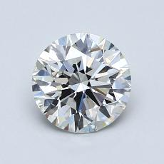 1.04-Carat Round Diamond Ideal F VVS2