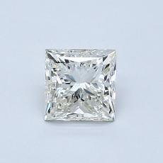 0.70-Carat Princess Diamond Very Good K VS2