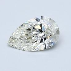 Recommended Stone #3: 0.70-Carat Pear Cut Diamond