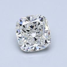 推荐宝石 4:1.06 克拉垫形钻石