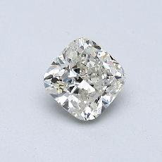 0.50-Carat Cushion Diamond Very Good K VS2