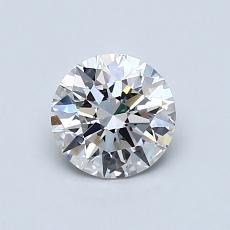 0.77 Carat 圓形 Diamond 理想 H VS2