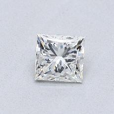 Recommended Stone #3: 0.46-Carat Princess Cut Diamond