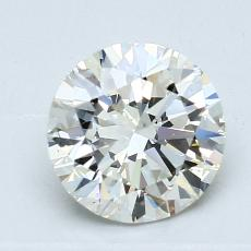1,31-Carat Round Diamond Ideal K VS2
