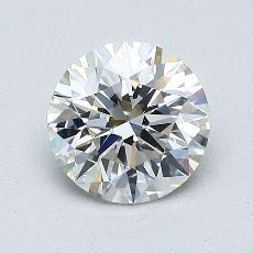 1.01 Carat 圓形 Diamond 理想 H VS1