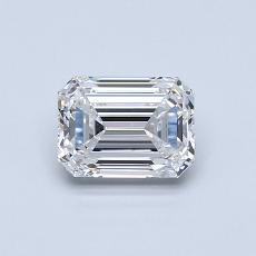 0.80 Carat 绿宝石 Diamond 非常好 E VVS2
