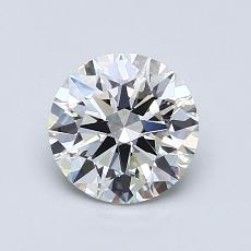 1.01-Carat Round Diamond Ideal E VVS1