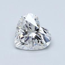 Recommended Stone #2: 1,00-Carat Heart Cut Diamond