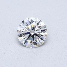 0.40 Carat 圓形 Diamond 理想 D VVS2