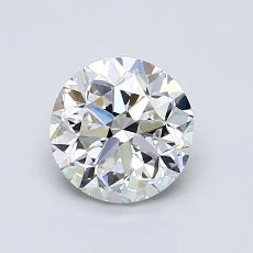 1,00-Carat Round Diamond Good F VVS2