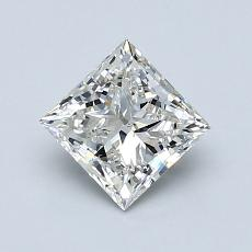 Recommended Stone #4: 1.00-Carat Princess Cut Diamond