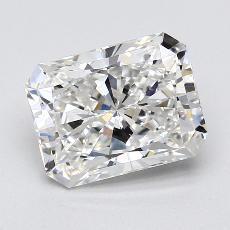 Pierre recommandée n°4: Diamant taille radiant 2,02 carats