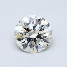 0,71 Carat Rond Diamond Idéale H VS1