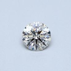 0.31 Carat 圆形 Diamond 理想 J VVS1