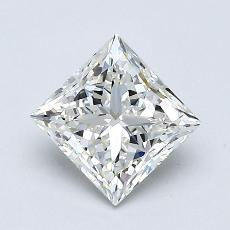 1,01-Carat Princess Diamond Very Good I VVS2