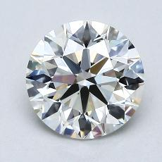 1.51 Carat 圆形 Diamond 理想 H VVS2