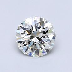 0.80 Carat 圓形 Diamond 理想 I VS2