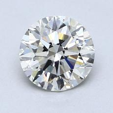1,31-Carat Round Diamond Ideal K SI1