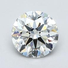 Recommended Stone #3: 1,30-Carat Round Cut