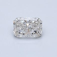 Recommended Stone #1: 0.55-Carat Radiant Cut