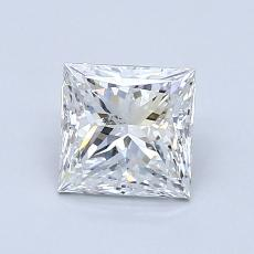 Recommended Stone #2: 1.00-Carat Princess Cut Diamond