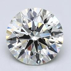 Recommended Stone #1: 4.05-Carat Round Cut Diamond