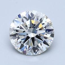 推薦鑽石 #4: 1.70  克拉圓形切割