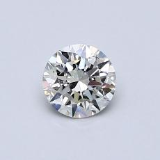 Recommended Stone #2: 0,45-Carat Round Cut Diamond