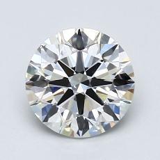 1.25-Carat Round Diamond Ideal H VS2