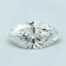 Recommended Stone #2: 0.57-Carat Marquise Cut Diamond