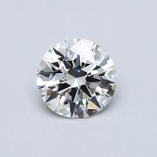 Recommended Stone #4: 0,60-Carat Round Cut Diamond