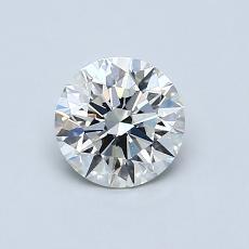0.70 Carat 圓形 Diamond 理想 I VS1