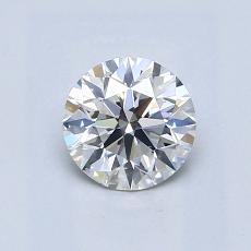 0.71 Carat 圆形 Diamond 理想 G VS2