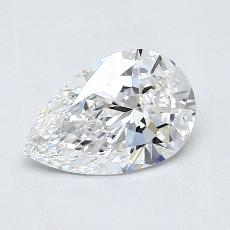Recommended Stone #3: 0.81-Carat Pear Cut Diamond