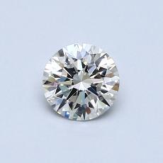 0.53-Carat Round Diamond Ideal I VS1