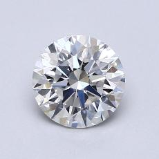1,00-Carat Round Diamond Ideal G VS1