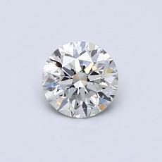 0,50 Carat Rond Diamond Idéale H VS1