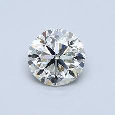 0.70 Carat 圆形 Diamond 良好 I VS1