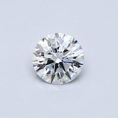 0.41 Carat 圆形 Diamond 理想 E VVS1