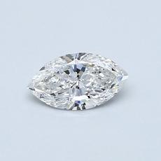 0.35 Carat 榄尖形 Diamond 非常好 F SI1