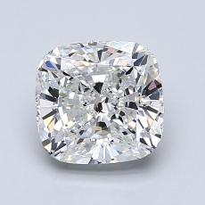 Pierre cible: Diamant taille coussin 1,50 carats